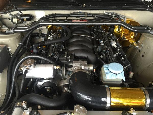TT3 prepped LS1 240sx