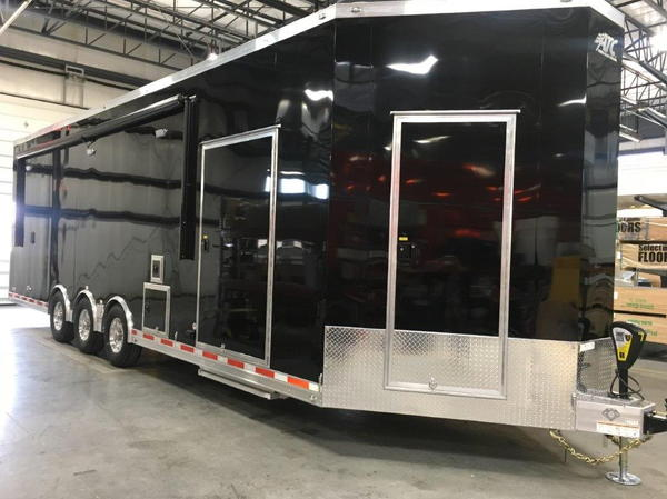 2019 ATC Quest 30' Enclosed Race Trailer + 5' Wedge Storage  for Sale $64,780