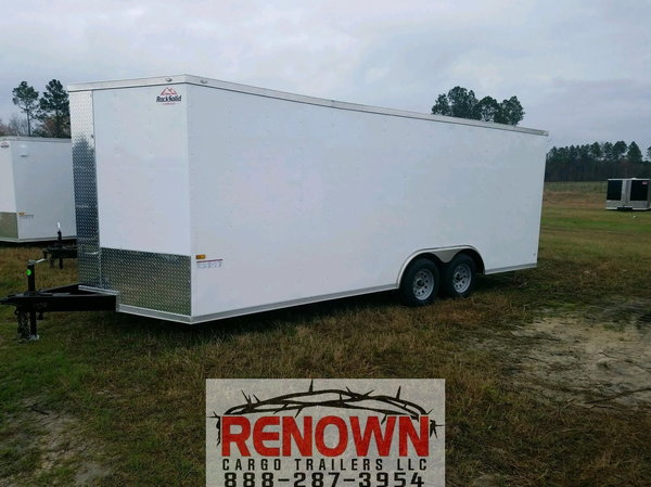 ***NEW*** 8.5X28 Tandem Axle Enclosed Cargo Trailer   for Sale $7,345