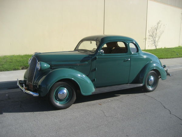 1937 Plymouth 2 Door Coupe
