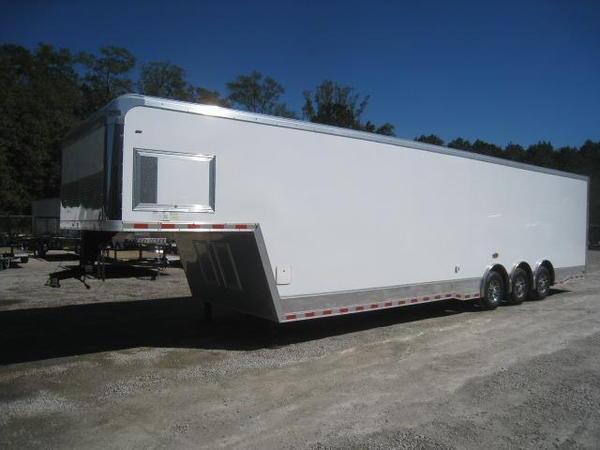 2017 Cargo Mate Eliminator 38 Gooseneck Car / Racing Trailer  for Sale $21,995