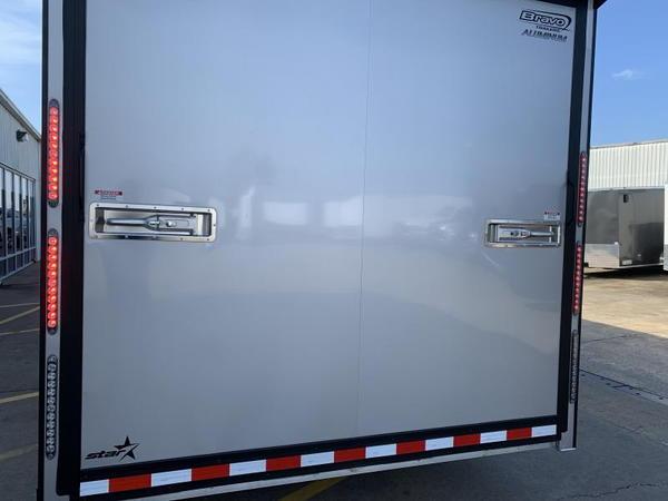 2020 Bravo Silver Star Aluminum 28' Race Trailer  for Sale $26,950