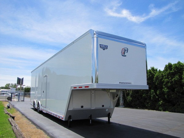 2020 Intech Trailers Icon 40' Sprintcar Trailer