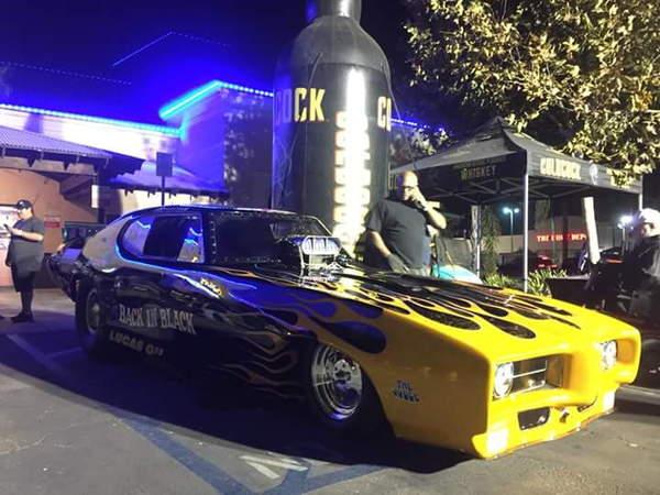 BACK IN BLACK  69 GTO NOSTALGA F/C!  for Sale $27,500