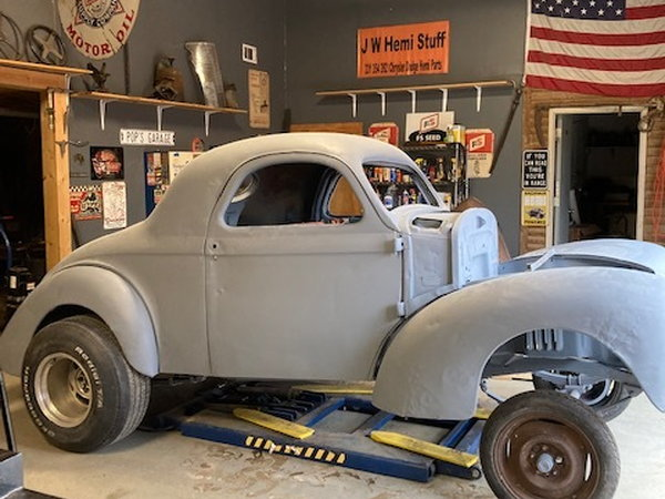 37 -40-41 willys gasser  for Sale $30,000