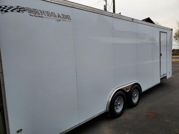 All-aluminum Enclosed Car Hauler  for Sale $10,500