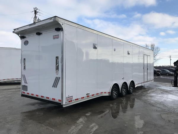 2019 United Trailers 8.5X34EXTRA HEIGHT Car / Racing Trailer