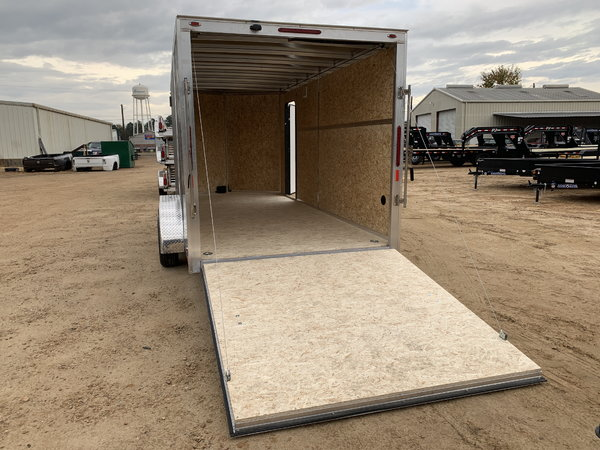 2019 Legend Aluminum 7 x 18 Tandem Axle Enclosed Trailer 7K   for Sale $8,000
