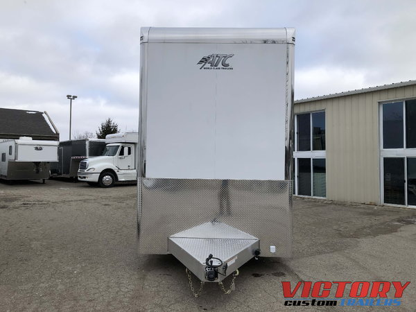 2019 ATC 28' Aluminum Stacker with Escape Door