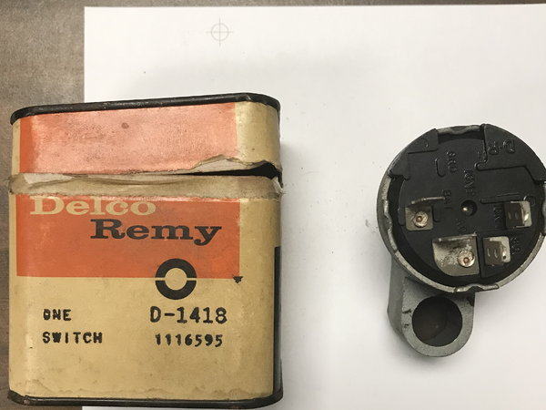 DELCO REMY NOS IGNITION SWITCH  for Sale $100