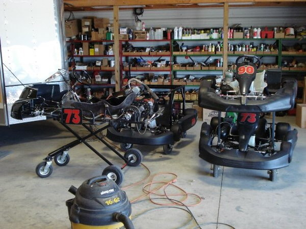 Karts and parts  for Sale $1