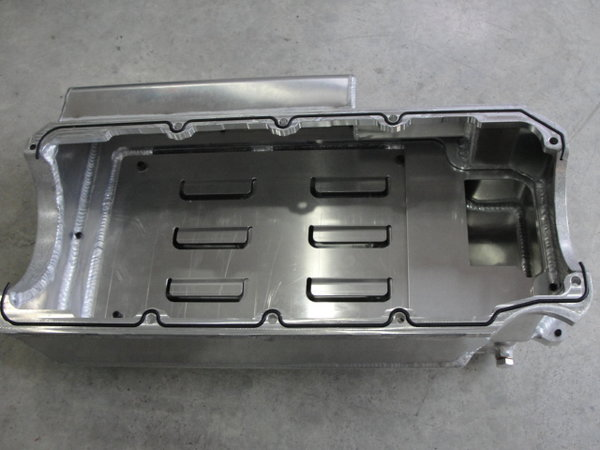 BILLET FAB TWO PIECE WET SUMP BBC PAN  for Sale $1,299