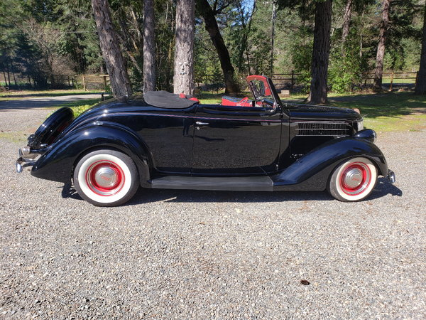 1936 Deluxe Cabriolet  for Sale $65,000