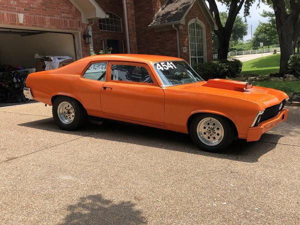 1974 Nova Drag Car  for Sale $9,950