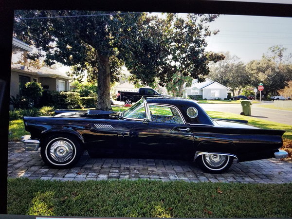 1957 Ford Thunderbird For Sale In Guyton Ga Price 25 000