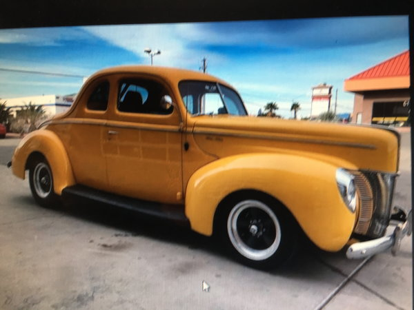 1940 FORD COUPE  for Sale $43,000
