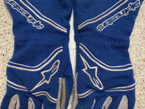 Alpinestars Tech 1 Start Gloves, With Case  for Sale $50