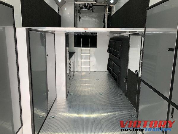 2019 InTech 44' Aluminum Gooseneck Sprint Car Trailer