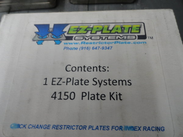 EZ-Plate Systems 4150 Spacer and Plate Kit  for Sale $350