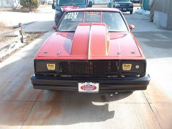 79 El Camino Big Tire  for Sale $20,000