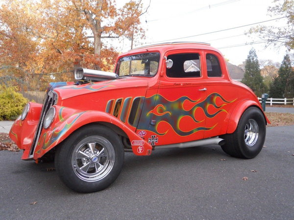 1933 Willys steel bodied coupe