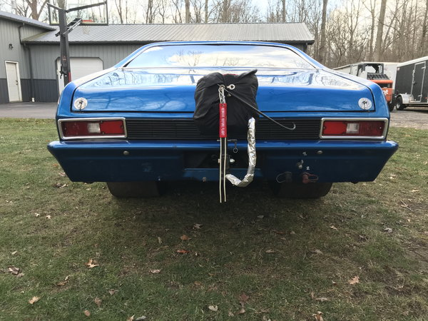 1970 Nova Chassis Car Cert to 8.50  for Sale $35,000