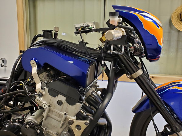 HTP Performance Tuned Hayabusa Drag Bike Operation