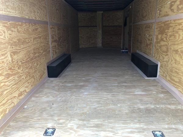 New 2020 8.5' x 24' Continental Cargo Trailer&nb