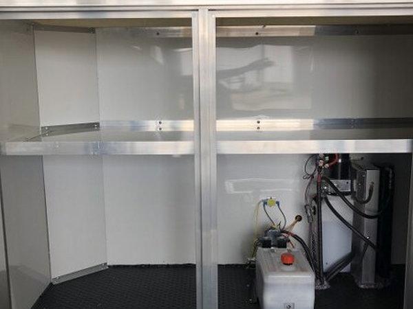 ATC 22' Aluminum Stacker with Escape Door