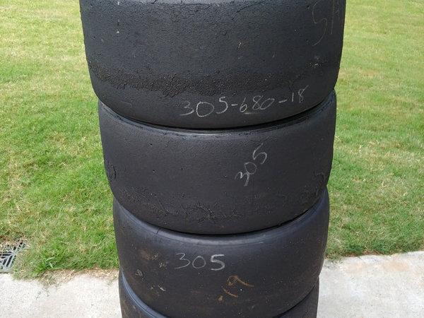 Set of 4 Pirelli P-Zero Road Race Tires  for Sale $250