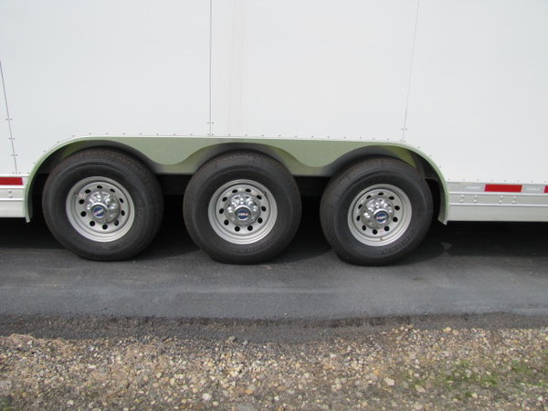 New 2020 Featherlite Trailers 4941 44' enclosed car hauler  for Sale $109,900