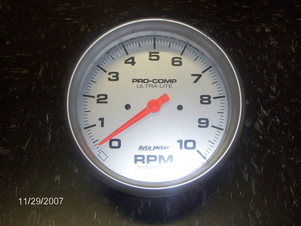 5 Inch Pro Comp Tach  for Sale $100