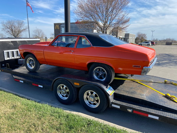 1972 Chevrolet Nova  for Sale $14,500