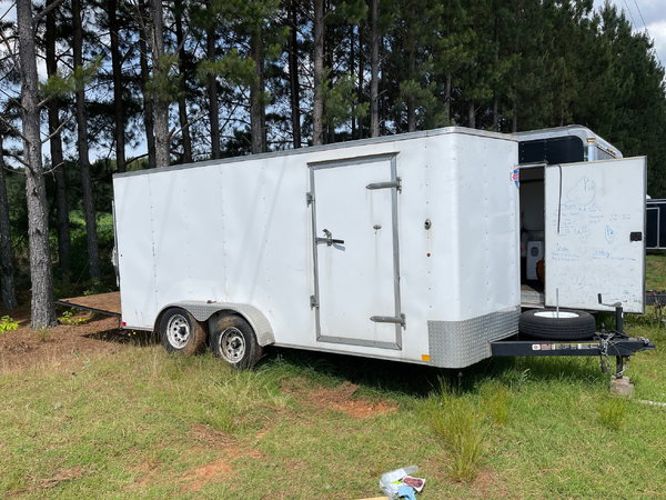 8x16 enclosed trailer  for Sale $3,400