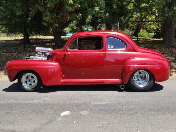 Pro Street 1948 Ford Coupe,BDS Blown 434,BEST OF EVERYTHING