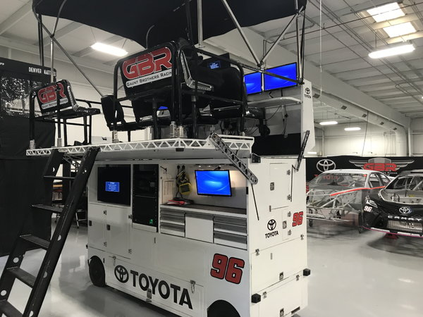 Monster Energy Cup Series Pit Box  for Sale $40,000