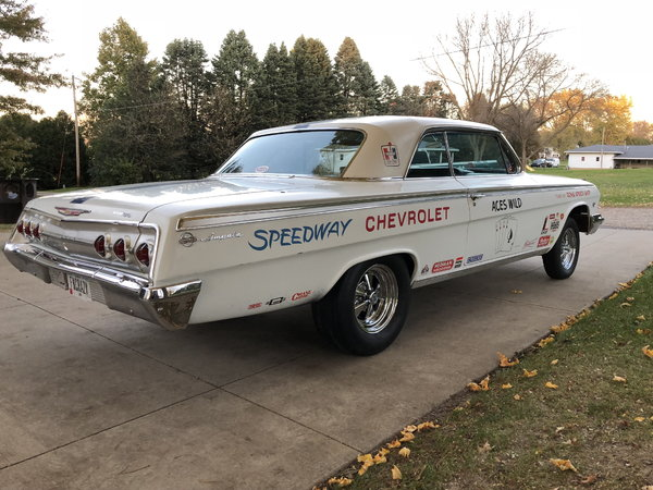 1962 Chevrolet Impala  for Sale $21,500