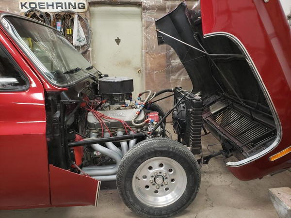 1980 Chevy truck drag truck / pro street