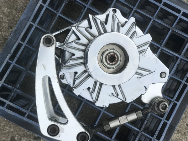 Chevy alternator with SBC bracket  for Sale $160