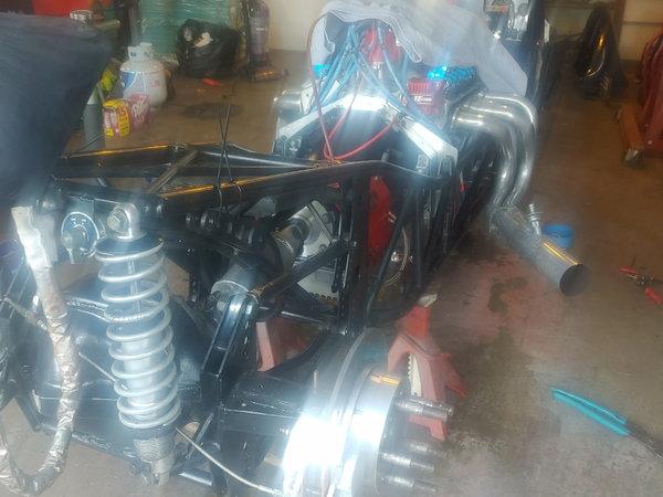 4 link dragster