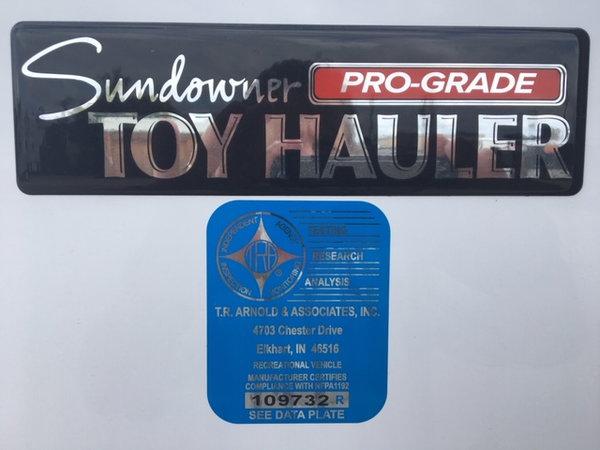 Cargo Toy Hauler