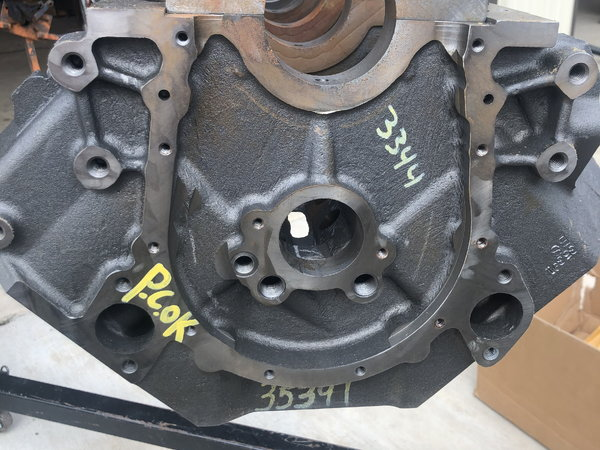DartBig M Sportsman Engine Block BBC 4.250B 9.80  for Sale $2,550