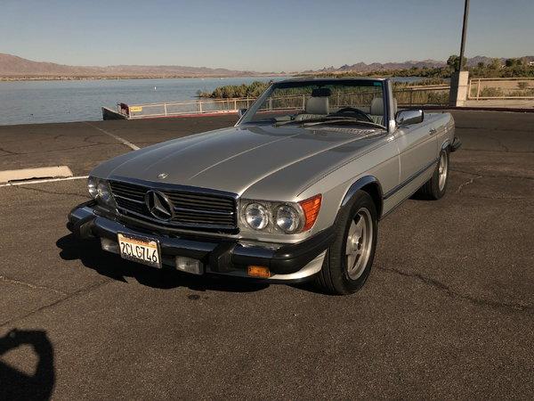 1986 Mercedes-Benz 560SL  for Sale $18,700