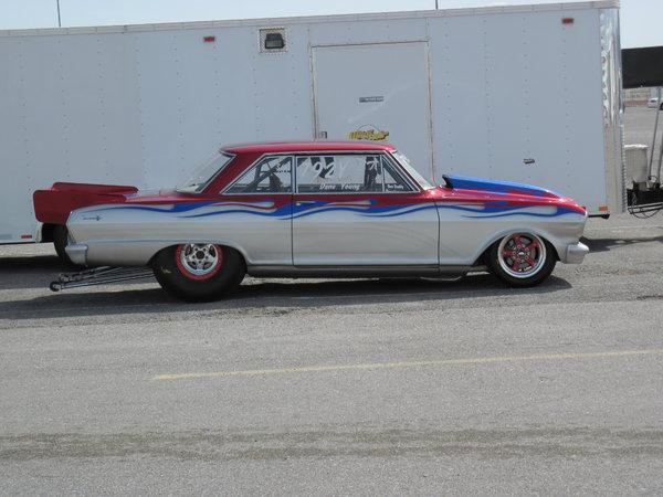 1963 Chevy Nova Bracket Car  for Sale $30,000
