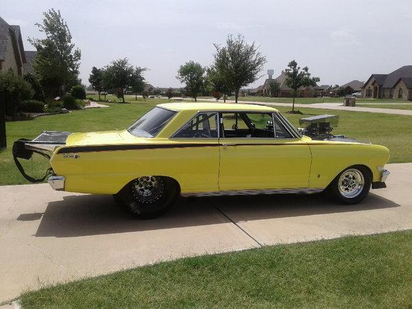 1963 Pro Street/Strip Chevy II Harrah Built Racecar  for Sale $43,500