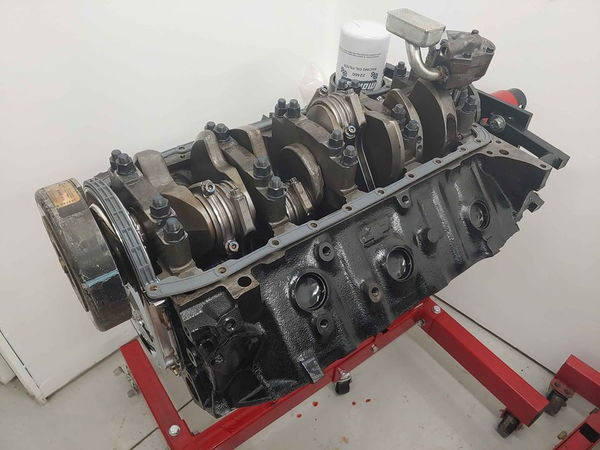 509 Big Block Chevy Bowtie Venolia Pistons H Beam Rods Fordg  for Sale $4,799