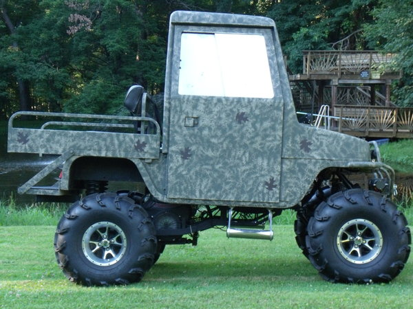 Custom One Of A Kind Cushman Truckster