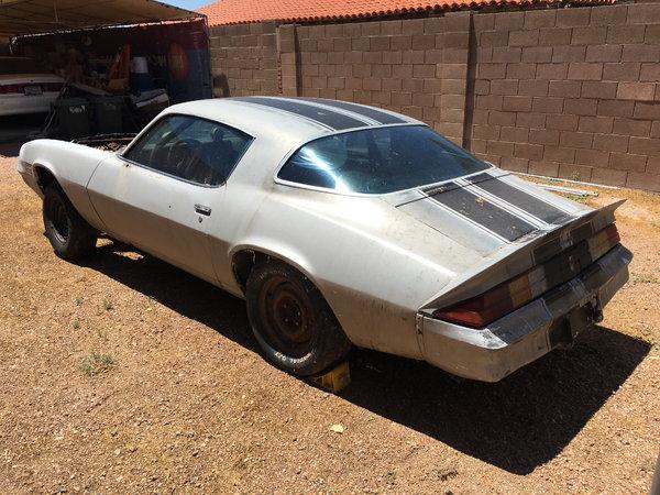 1980 Camaro drag car   for Sale $2,500