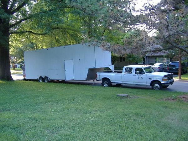 CUSTOM 36 Foot Enclosed Trailer  for Sale $28,000