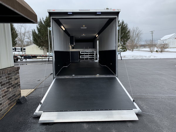 36' United Gooseneck Spread Axle Stage II Race Car Trailer  for Sale $25,995